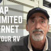 Episode 117: Cheap Truly Unlimited Internet for Your RV | camping tips tricks how-to