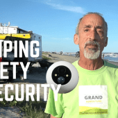 Ep. 140: Camping Safety & Security | RV monitoring remote cameras