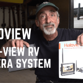 Ep. 152: Haloview Rear View RV Camera System | Installation, Test & Review Side-View
