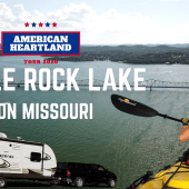 Ep. 163: Table Rock Lake | Branson Missouri RV travel camping kayaking
