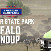 Ep. 175: Custer State Park | Buffalo Roundup | South Dakota RV travel camping hiking kayaking
