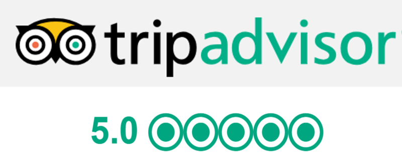 Tripadvisor 5 stars reviews