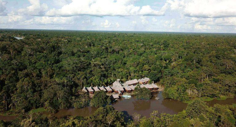 Grand Amazon Lodge in Tamshiyacu Tahuayo Communal Reserve