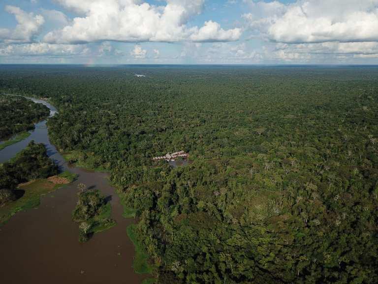 San Juan de Yanayacu, Tamshiyacu Tahuayo-Reservat im Amazonas-Regenwald