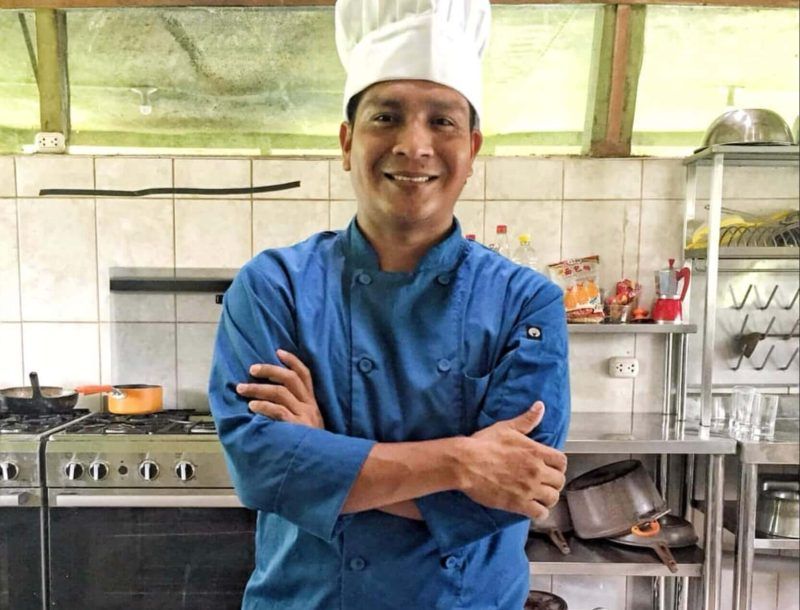 Chef Marcos at Amazon Lodge