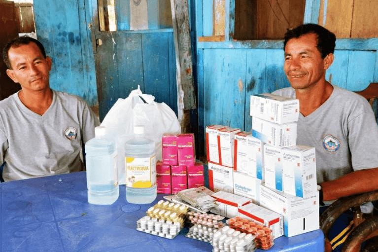 Medical Supplies Donation for San Juan de Yanayacu
