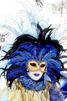 Masques de Venise à Paris