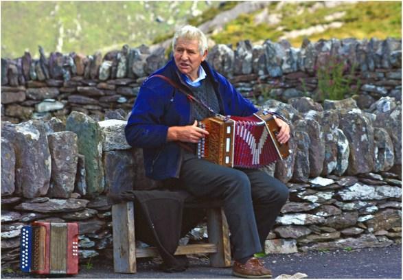 L'accordéoniste irlandais