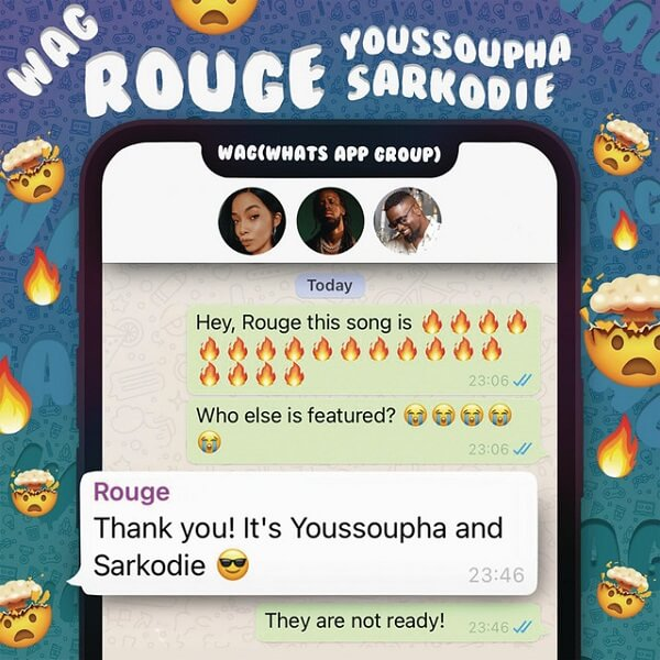 Rouge - WAG ft. Sarkodie, Youssoupha