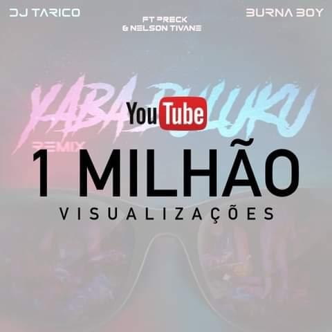 """INCRÍVEL!!! Remix de """"Yaba Buluku"""" acaba de atingir a meta de 1 milhão de views em menos de uma semana"""