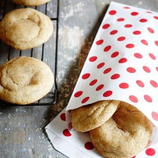 Chai Spice Snickerdoodles | Grandbaby Cakes