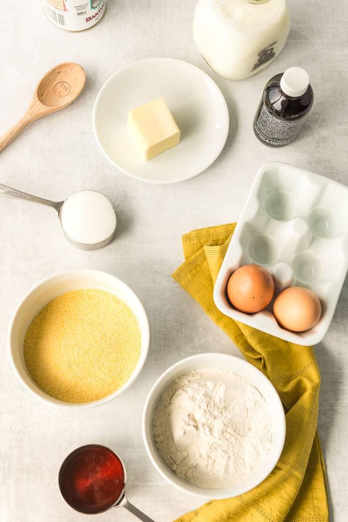Honey Cornbread Recipe 1 - Brown Butter Honey Cornbread