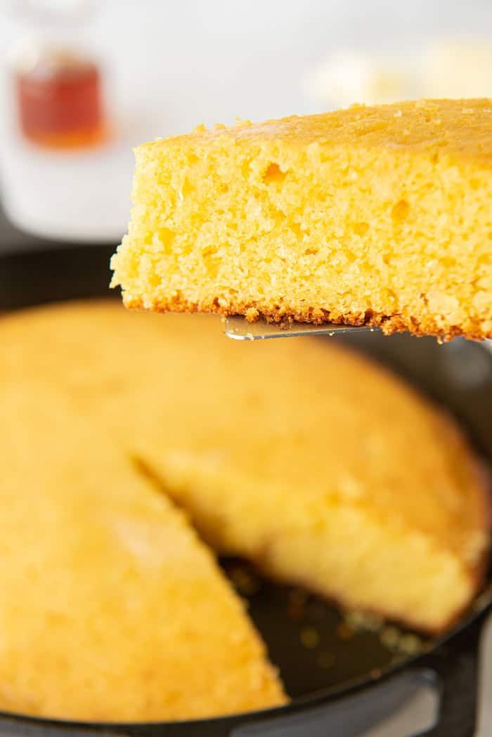 Honey Cornbread Recipe 7 - Brown Butter Honey Cornbread