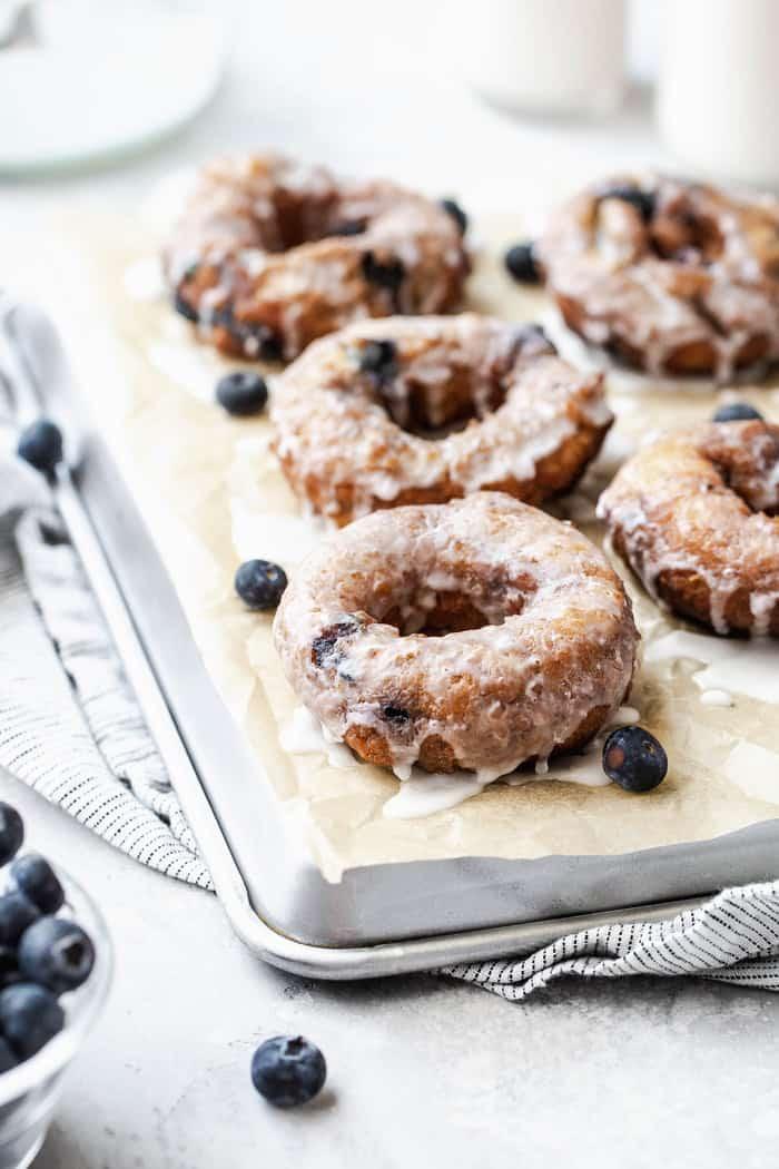 Blueberry Glazed Doughnuts Grandbaby Cakes