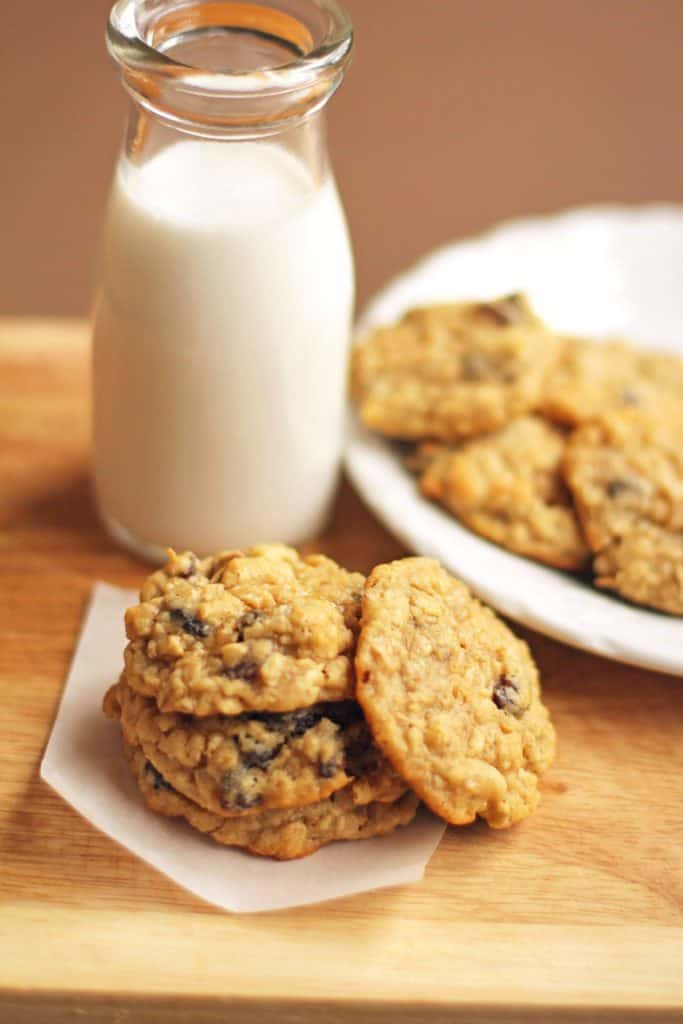 Chewy Oatmeal Raisin Cookies Recipe 2 683x1024 - Chewy Oatmeal Raisin Cookies Recipe