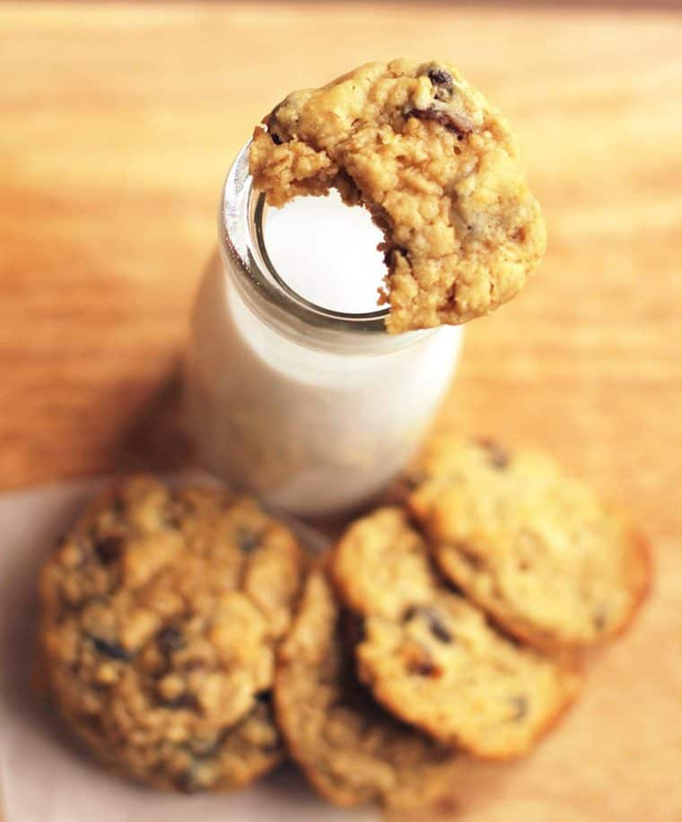 Chewy Oatmeal Raisin Cookies Recipe 3 850x1024 - Chewy Oatmeal Raisin Cookies Recipe