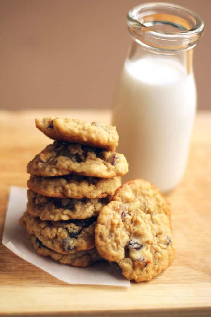 Chewy Oatmeal Raisin Cookies Recipe 5 683x1024 - Chewy Oatmeal Raisin Cookies Recipe