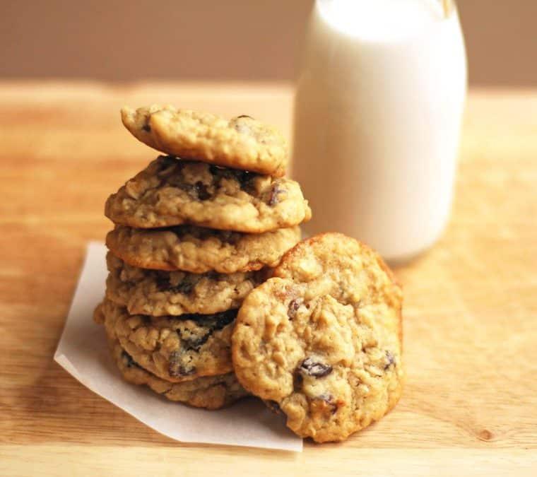 oatmeal cookie1 1024x910 - Lemon White Chocolate Chip Cookies