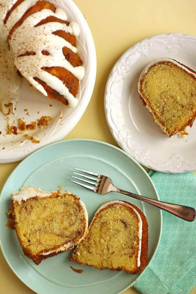 Cinnamon Roll Pound Cake 2 683x1024 - Cinnamon Roll Pound Cake