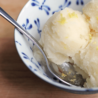 Screen+Shot+2013 06 02+at+9.55.36+AM 320x320 - Easy Lemon Sorbet - Tastes just like frozen lemonade