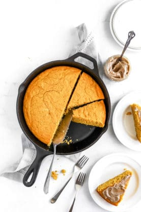 Pumpkin Cornbread 2 1 277x416 - Brown Butter Pumpkin Cornbread