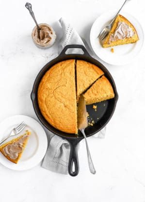 Pumpkin Cornbread 3 299x416 - Brown Butter Pumpkin Cornbread