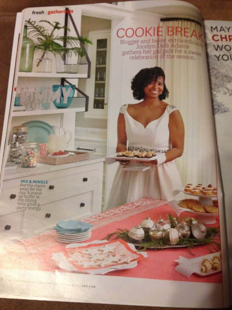 photo 1 768x1024 - Better Homes and Gardens December Issue Feature and White Chocolate Mudslides