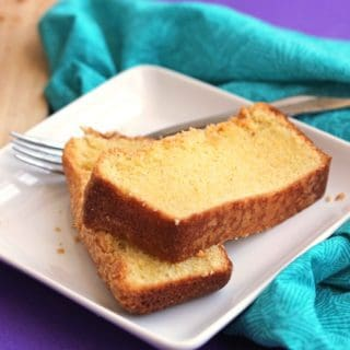 cornmeal pound cake 1 320x320 - Cornmeal Pound Cake