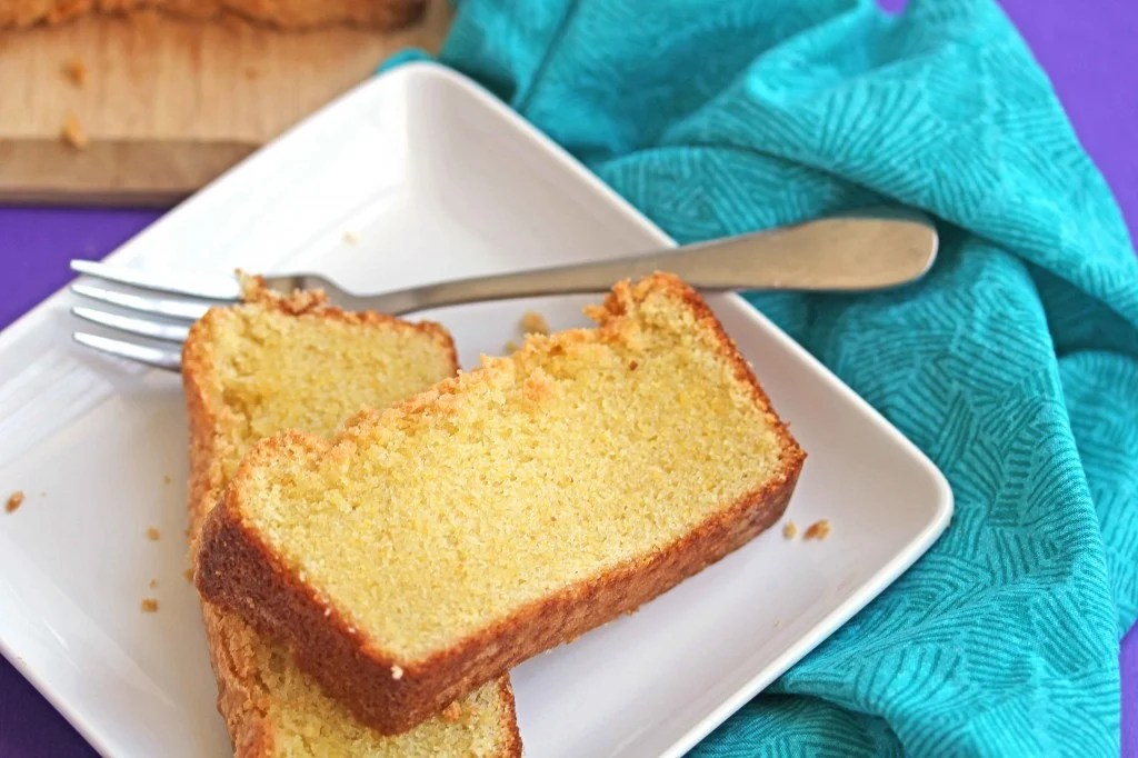 cornmeal pound cake 3 1024x682 - Cornmeal Pound Cake