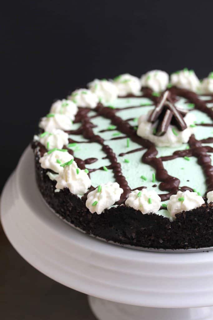 Baileys Mint Chocolate Cream Pie 1 683x1024 - Baileys Mint Chocolate Cream Pie