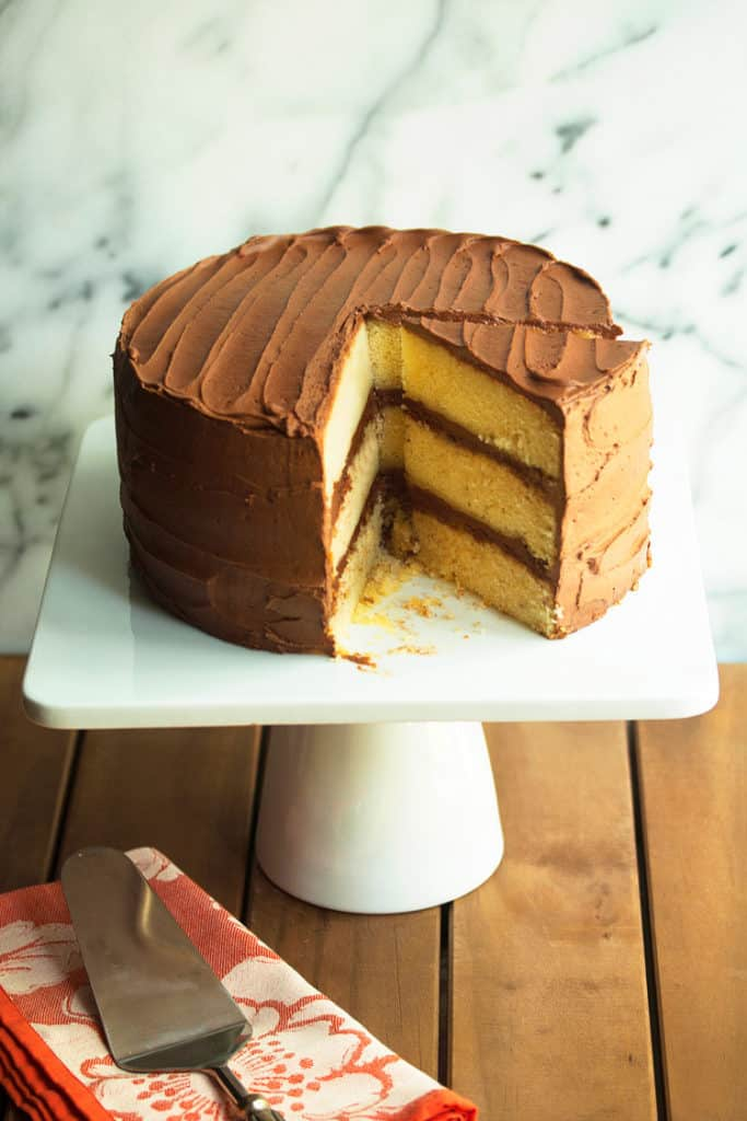 Yellow Cake Recipe With Chocolate Frosting in book 683x1024 - Yellow Cake Recipe with Chocolate Frosting