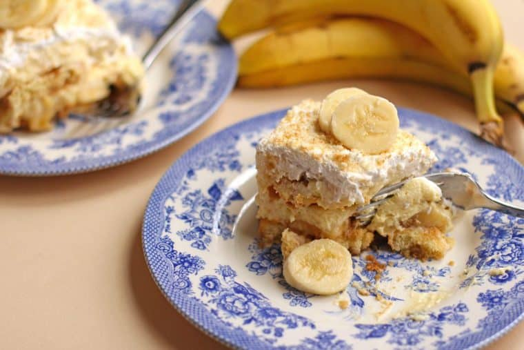 banana pudding tiramisu3 1024x683 - Chocolate Chip Cookie Dough Tiramisu