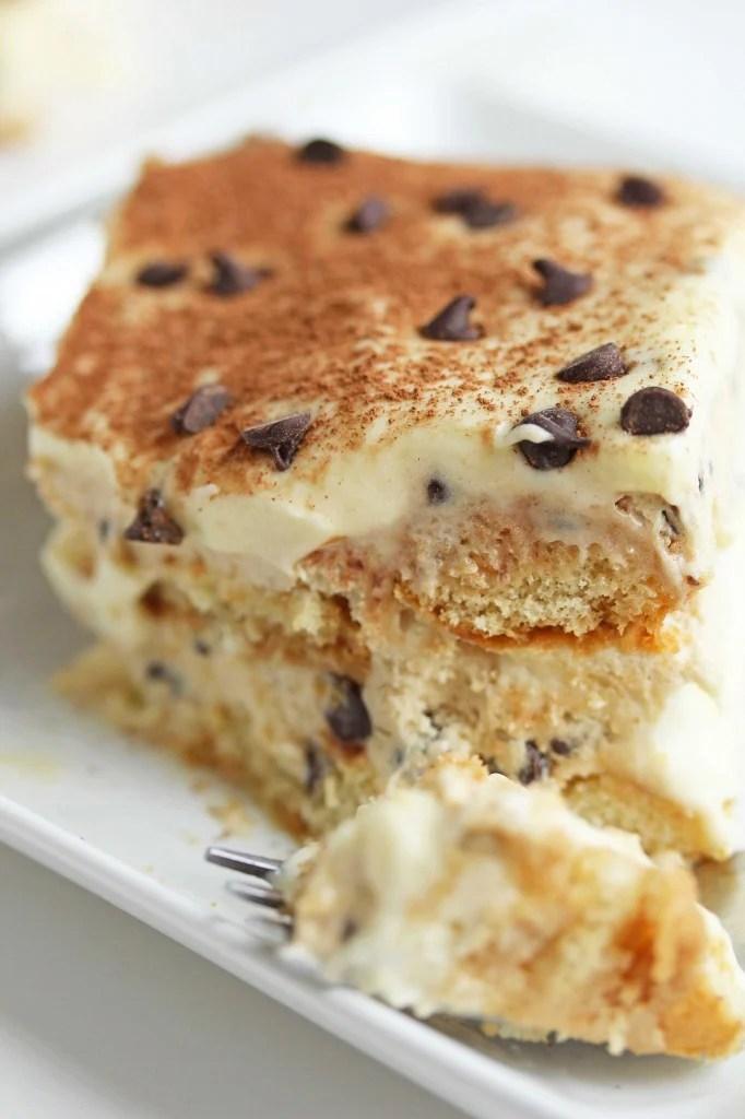 cookie dough tiramisu 4 682x1024 - Chocolate Chip Cookie Dough Tiramisu