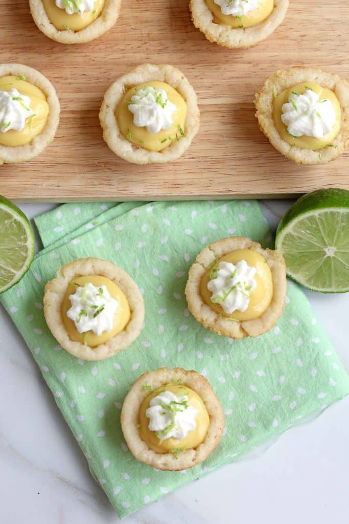 key lime pie cookie cups 3 683x1024 - Key Lime Pie Cookie Cups