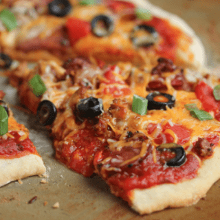 chorizo mexican pizza