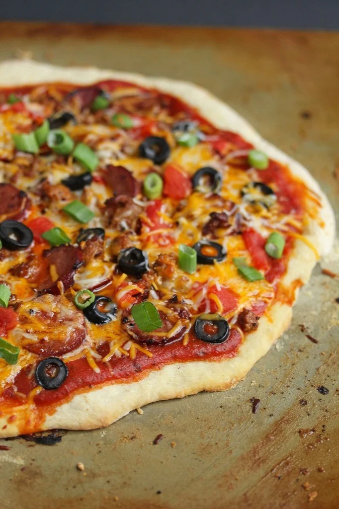chorizo mexican pizza 2 682x1024 - Pineapple Mocktail Margaritas