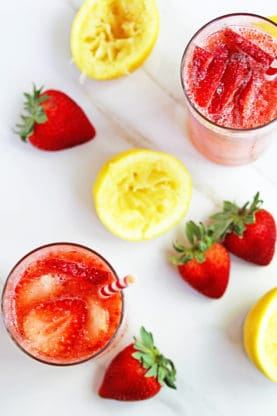 Easy strawberry lemonade recipe 4 277x416 - 20+ BEST Labor Day Recipes to Make Your Holiday a Hit!!