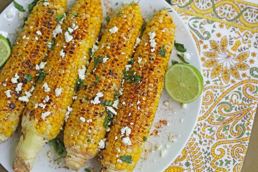 mexican corn on the cob 1 1024x682 - Mexican Grilled Corn on the Cob