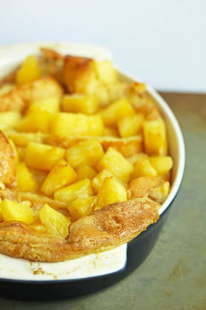 pineapple french toast1 683x1024 - Baked Pineapple French Toast