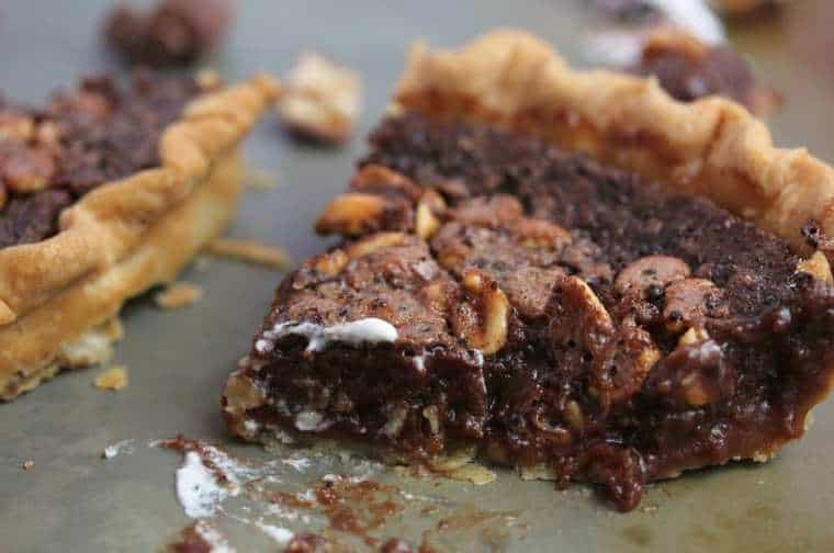 candy bar fudge pie1 5 - Candy Bar Fudge Pie