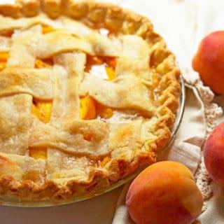 Fresh peach pie 3 320x320 - Fresh Peach Pie Recipe
