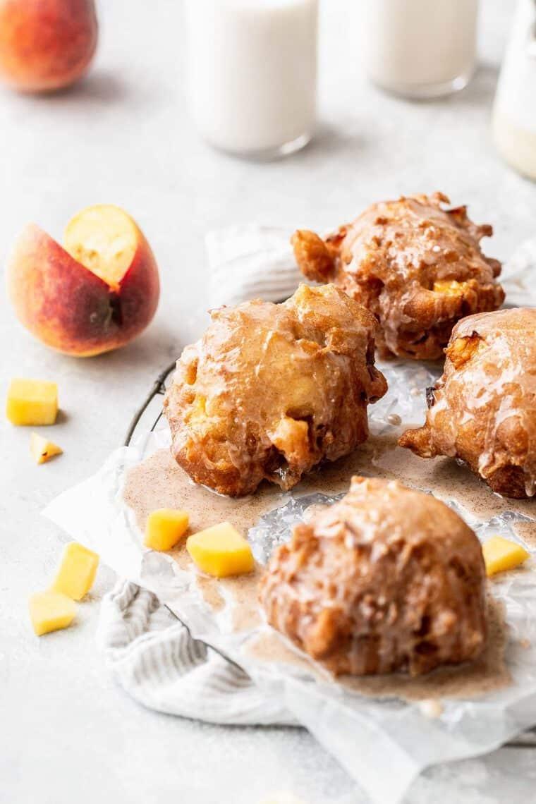 Peach Fritters Recipe 3 e1562687319786 - Peach Fritters Recipe