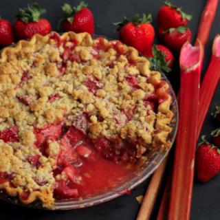 Screenshot 2014 07 01 08.05.17 320x320 - Strawberry Rhubarb Crumble Pie