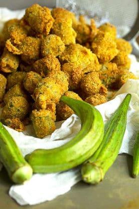 southern pan fried okra recipe 2 277x416 - Fish Fry (How to Fry Fish)