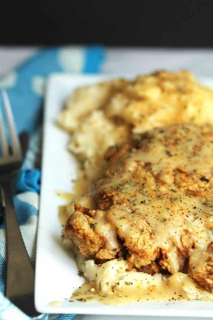 chicken fried steak 2 683x1024 - THE BEST Chicken Fried Steak Recipe! (Plus How To Video!)