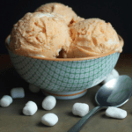 Sweet Potato Ice Cream with Toasted Marshmallows | Grandbaby Cakes