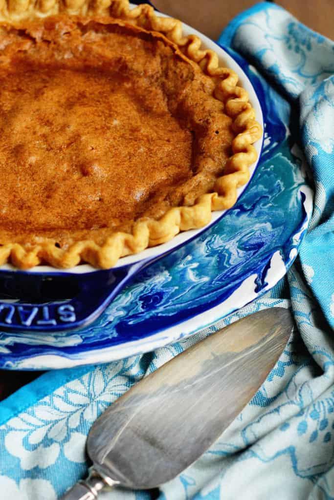 brown sugar chess pie 2 copy 683x1024 - Brown Sugar Chess Pie Recipe