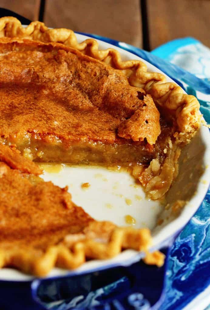 brown sugar chess pie 3 copy 692x1024 - Brown Sugar Chess Pie Recipe