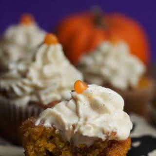 Pumpkin Cinnamon Roll Cupcakes   Grandbaby Cakes