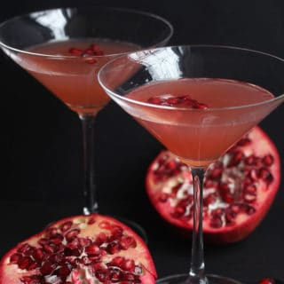 pomegranate champagne cocktail 1 320x320 - Pomegranate Orange Champagne Cocktail